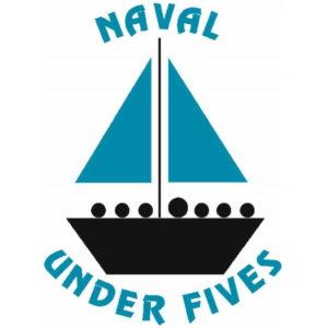 Naval Under Fives blue boat logo