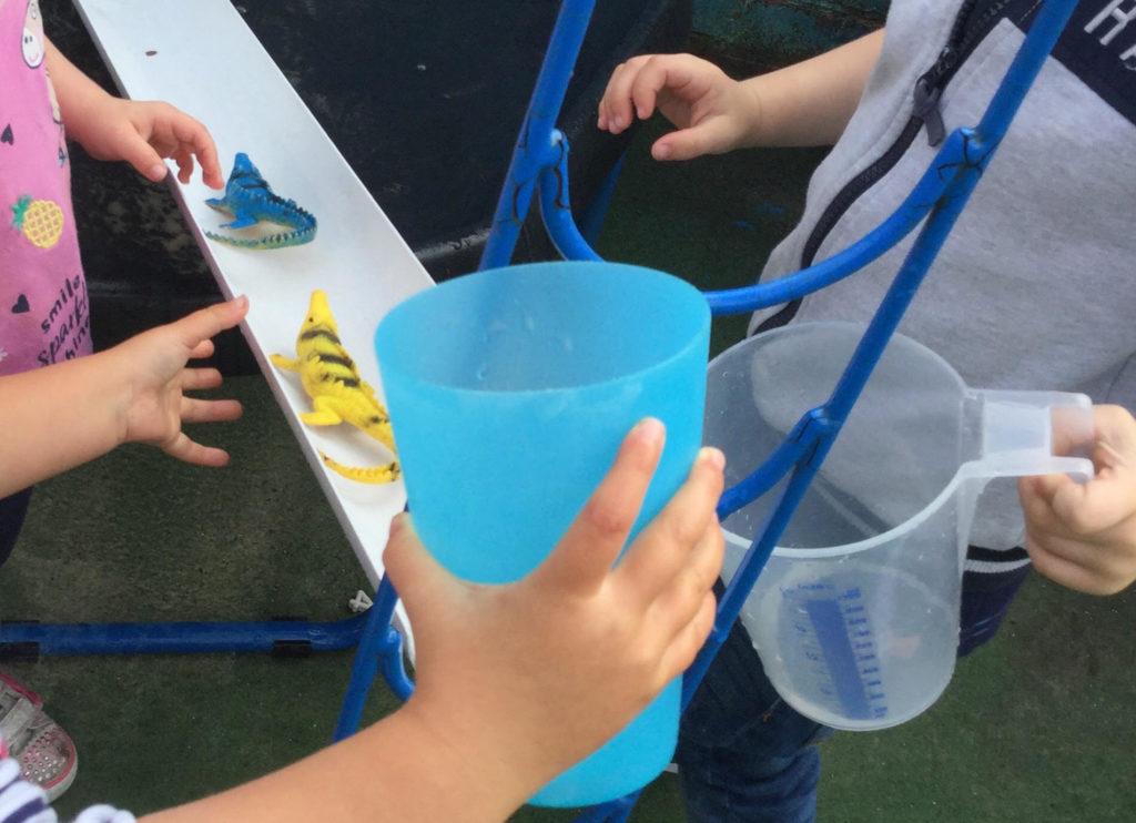Penguin preschool water play