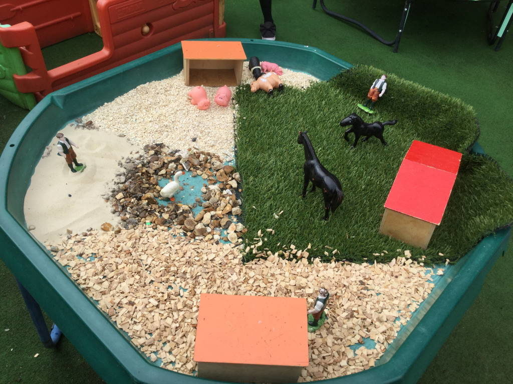 Puffin Preschool sandplay
