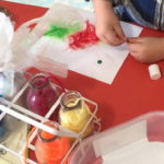 Swan Preschool craft play